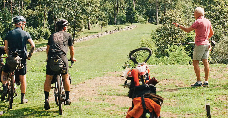 PCR Gravier bikepacking v Sloveniji