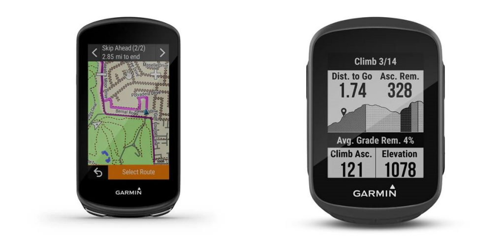 Garmin Edge 1030 Plus i Edge 130 Plus