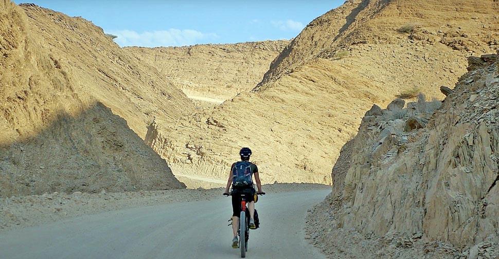 Oman bikepacking