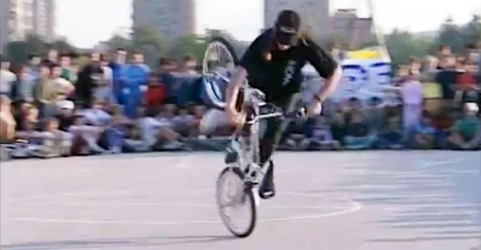 Simon Stojko Falk, BMX flatland
