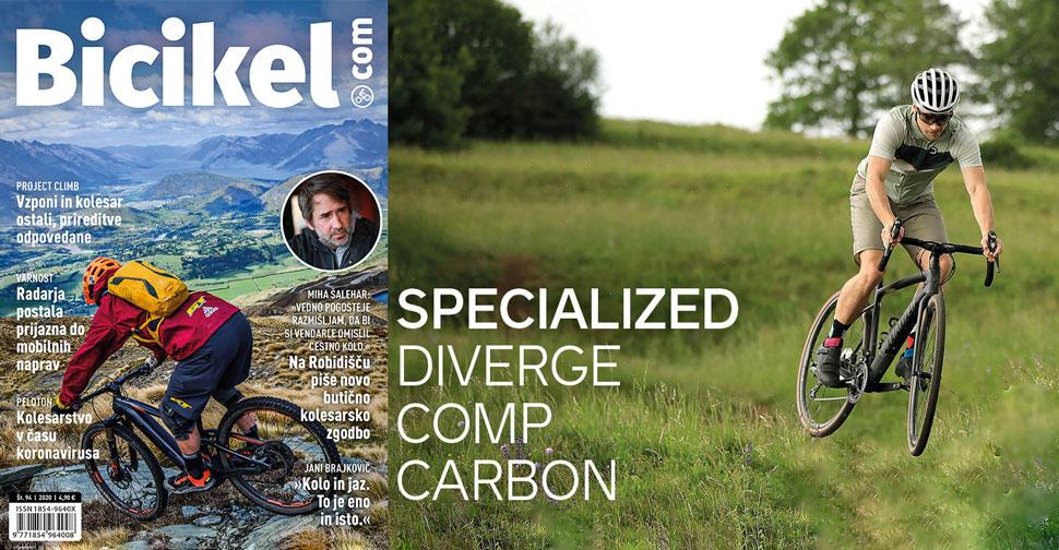 sveže branje revija bicikel