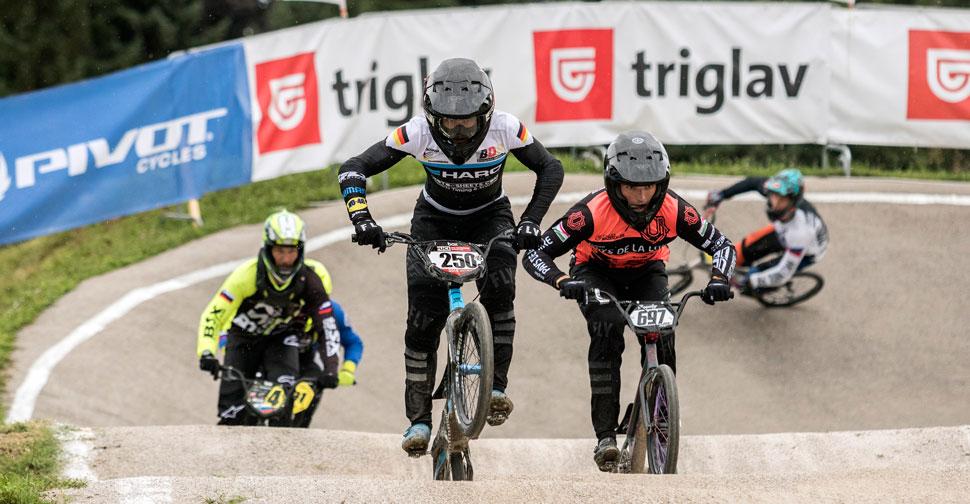 BMX Race Ljubljana, Axel Webster, Bence Bujaki