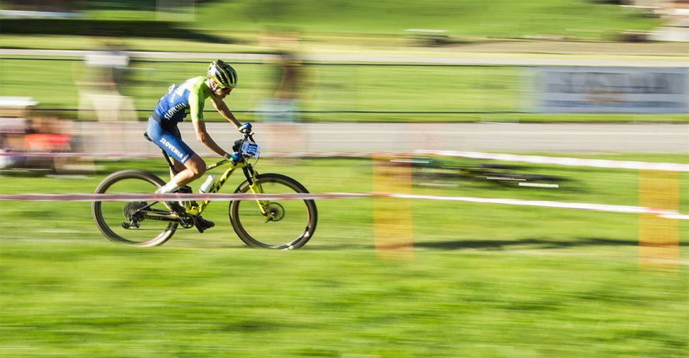 Teo Pečnik, UCI Junior Series XCO Gstaad
