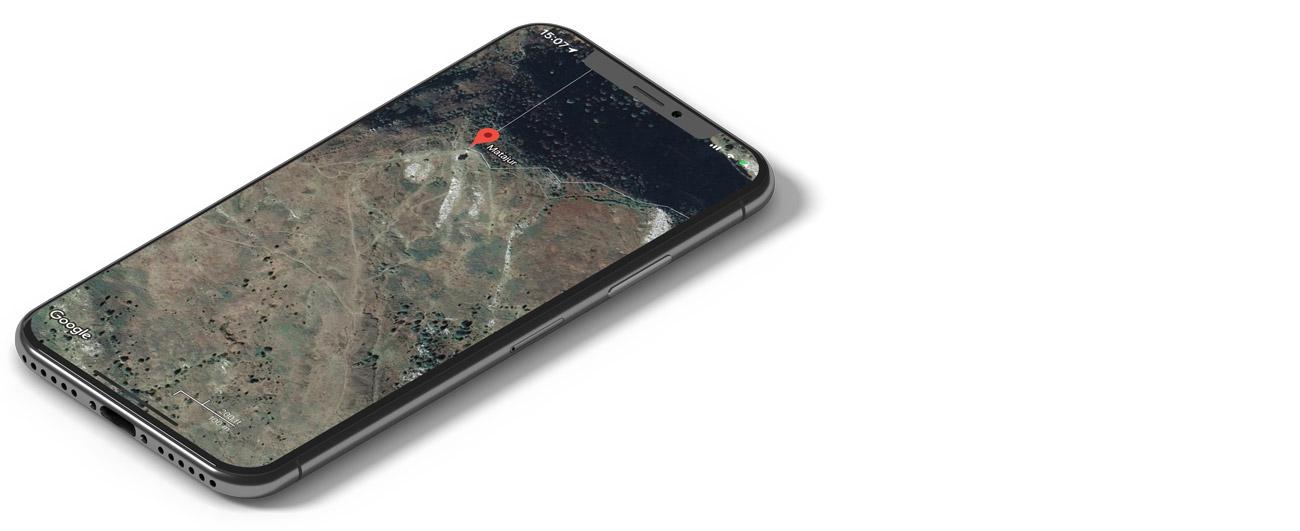 Google Maps - mobilne aplikacije za gorske kolesarje