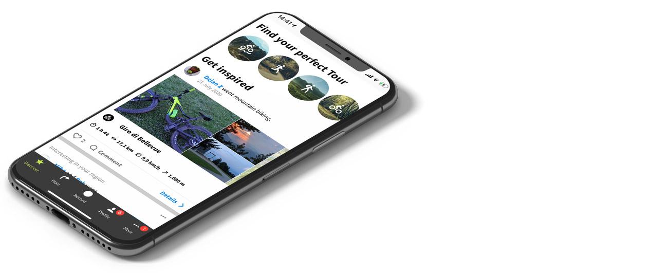 Komoot - mobilne aplikacije za gorske kolesarje