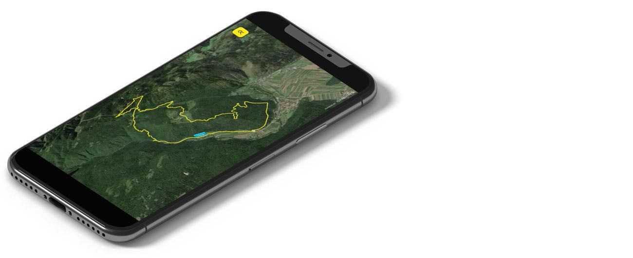 Relive - mobilne aplikacije za gorske kolesarje