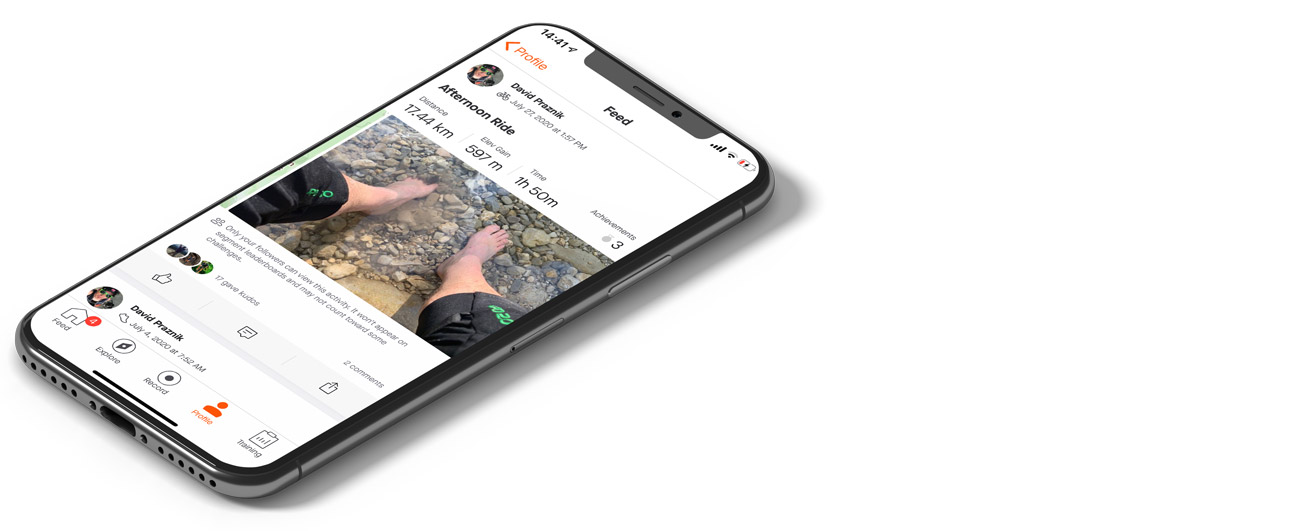 Strava - mobilne aplikacije za gorske kolesarje