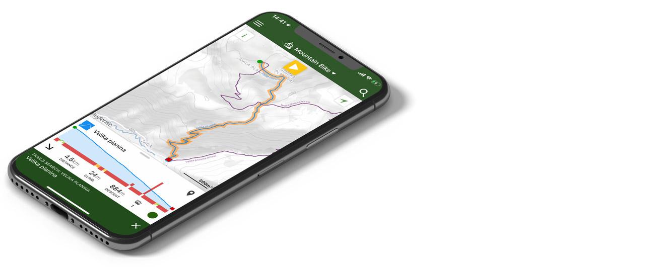 Trailforks - mobilne aplikacije za gorske kolesarje