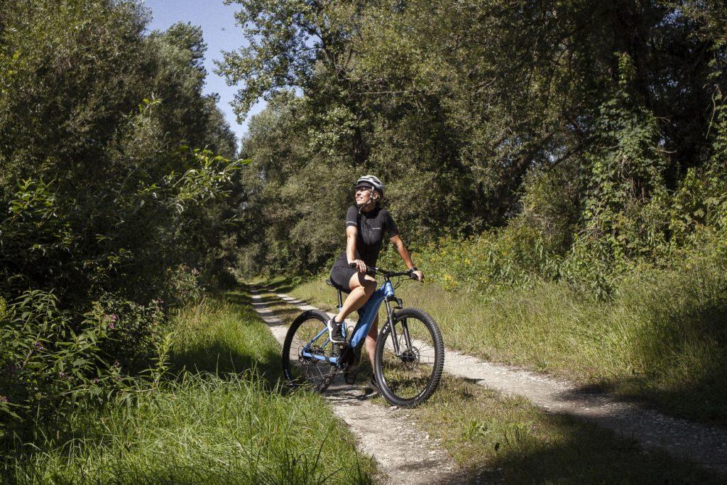 Pridružila nam se Tatjana Hažić (OPG Hažić, i sama iskusna biciklsitica i triatlonka (Toplice Sveti Martin)