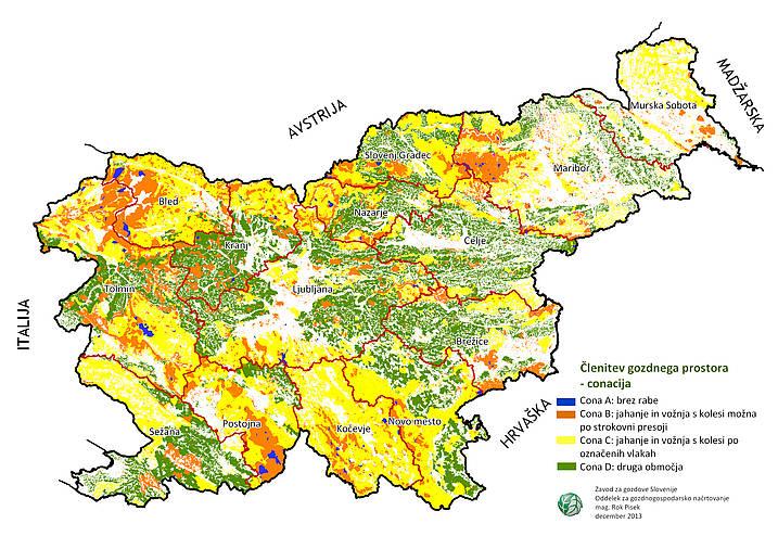 Conacija gozdov v Sloveniji