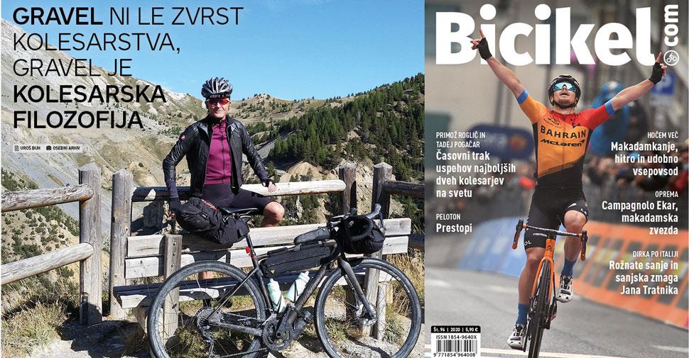 Revija Bicikel, makadamkanje