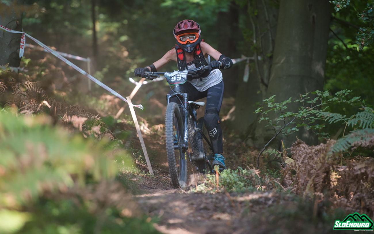 Aurelie Roussel, Golovec trails SloEnduro