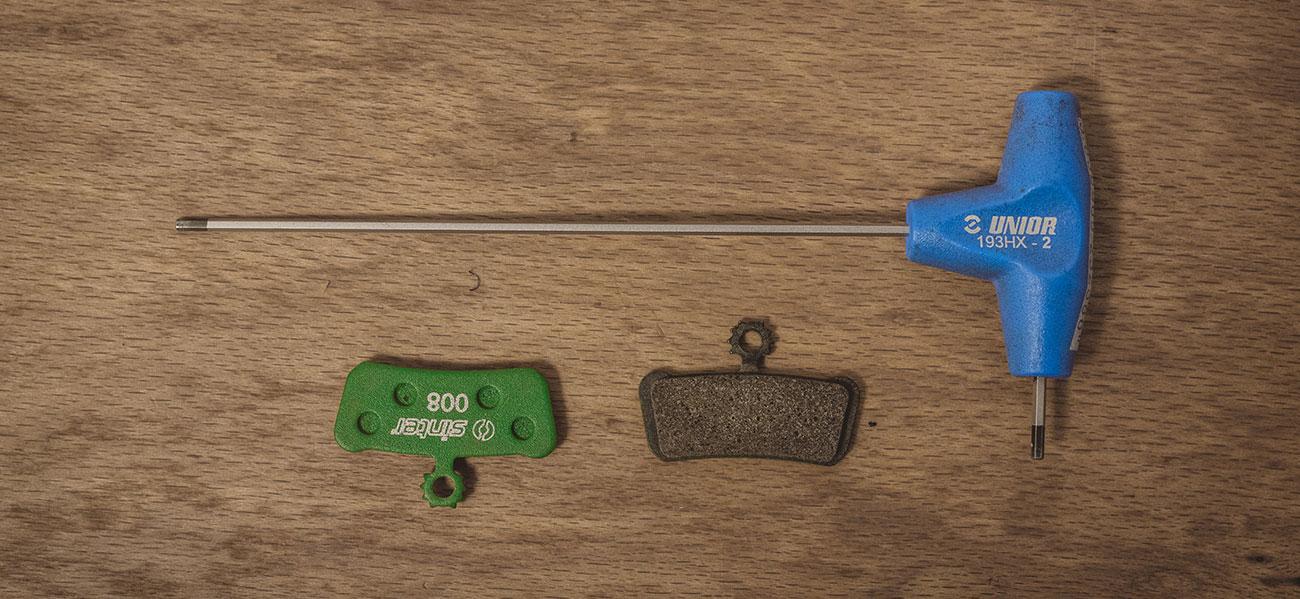 Unior tools, Sinter brakes