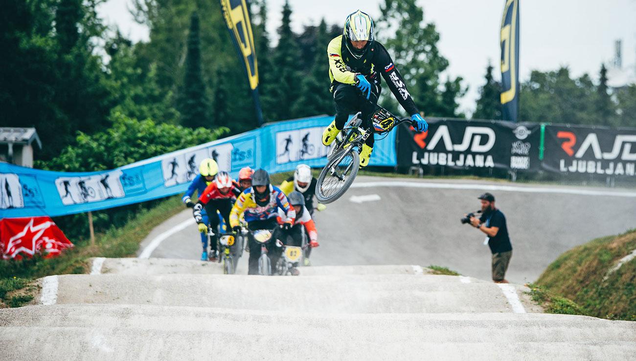 Tilen Frank, BMX race Ljubljana