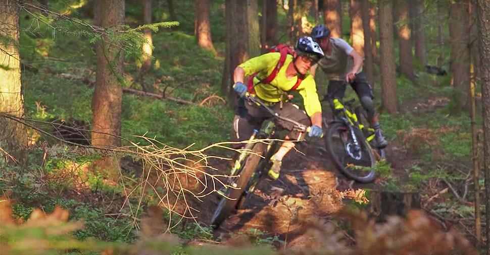 anej štrucl, mountain bike nomad, jamnica