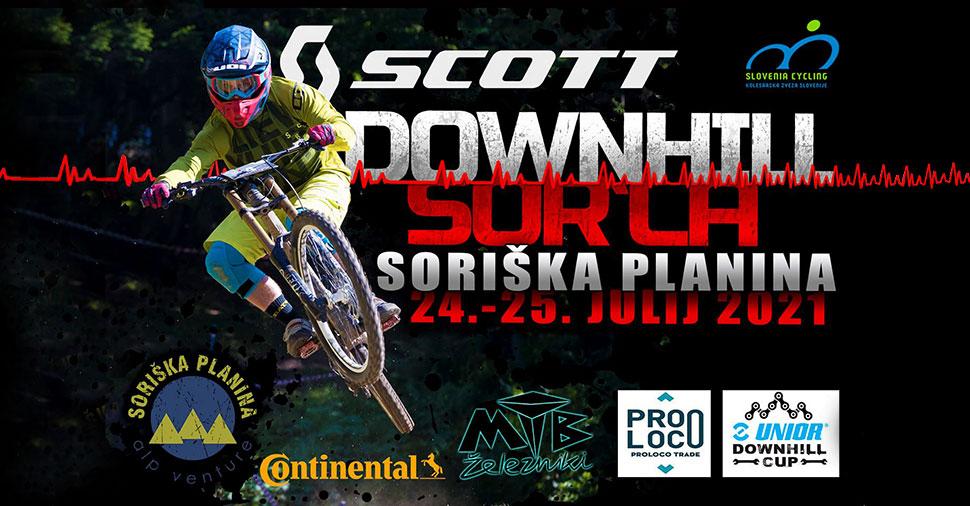 downhill sorica, unior downhill cup