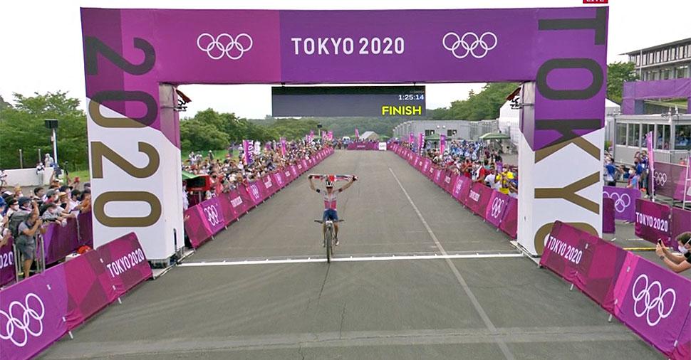 Thomas Pidcock, Tokyo olympic