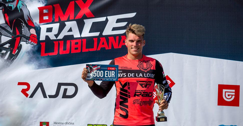 Bence Bujaki, BMX Race Ljubljana