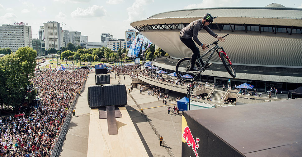 max fredriksson, red bull roof ride